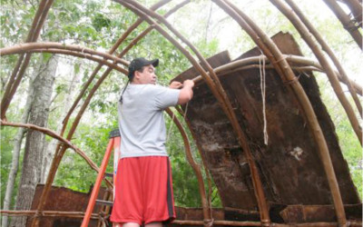 2015 Waquoit Bay Reserve partners with the Mashpee Wampanoag Tribe