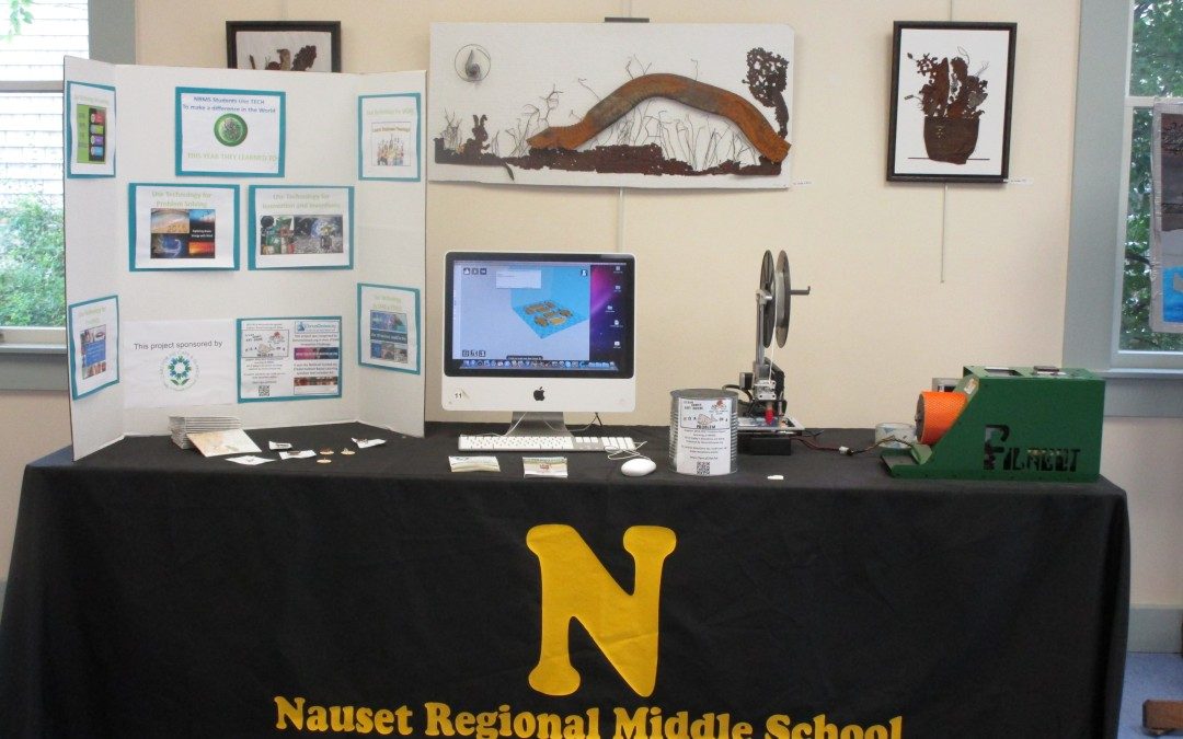 Nauset Middle School: Charms for Change Project