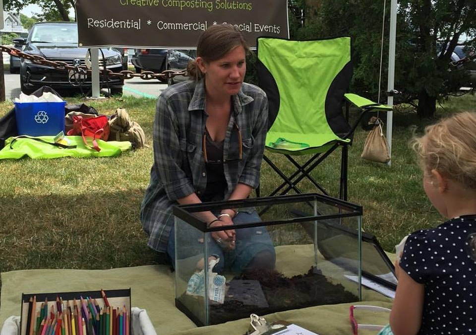 Falmouth Farmers Market: Food Scrap Collection & Education