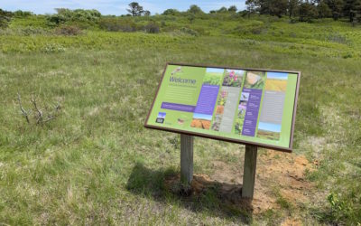 Linda Loring Nature Foundation-Interpretive Signage
